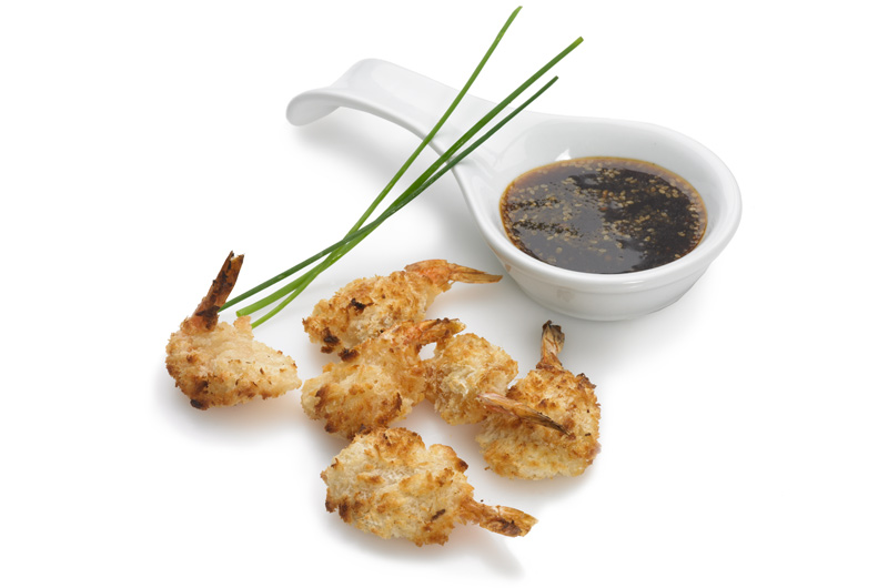 King Prawns in Breadcrumbs