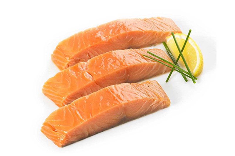 Hot Smoked Scottish Salmon