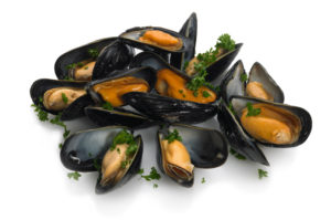 Slow Hot Smoked River Fowey Mussels
