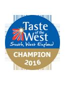 Taste of the West Award, Champion 2016