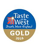 Gold Taste of the West Award 2016