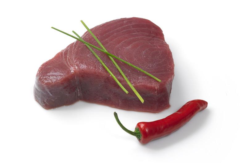 Tuna steak sashimi grade from wing of st mawes for Sashimi grade fish